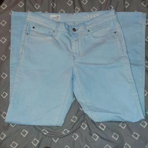 Light Blue Gap 1969 Legging Jeans Sz 29 R